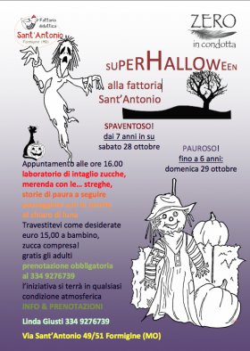 HALLOWEEN a Formigine - ZERO in condotta